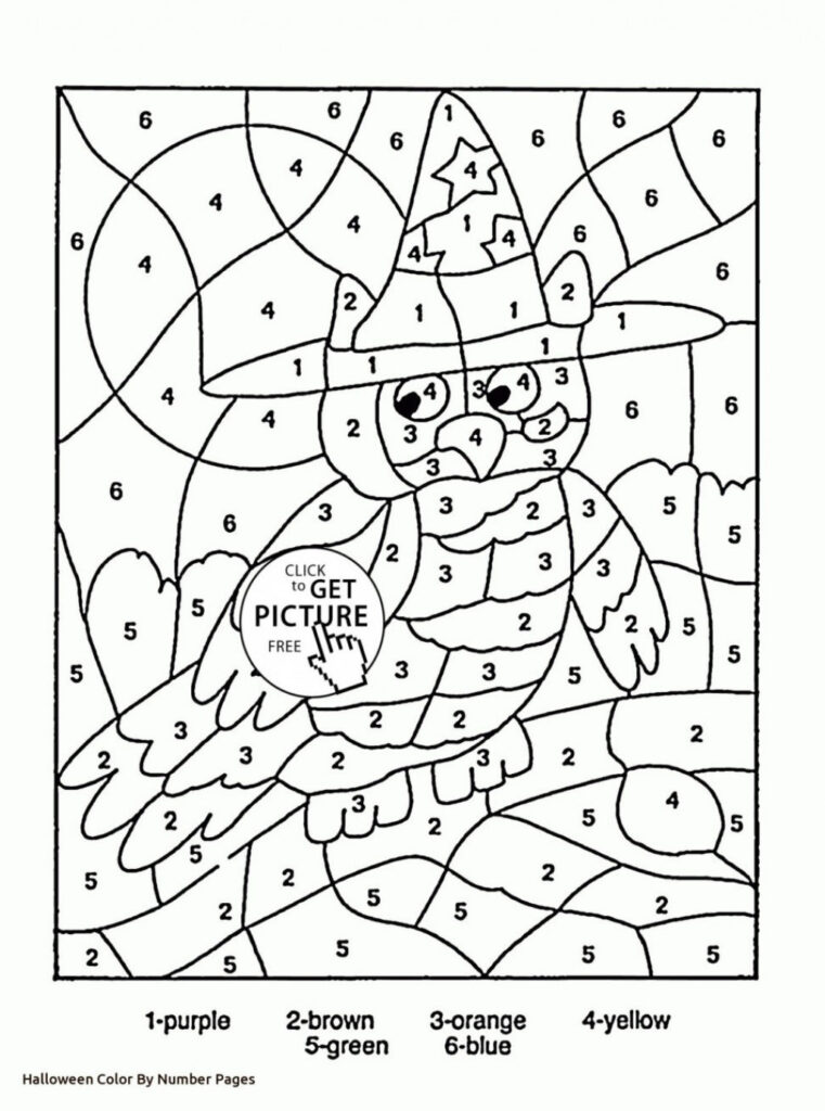 Math Worksheet : Halloween Math Coloring Pages Worksheets