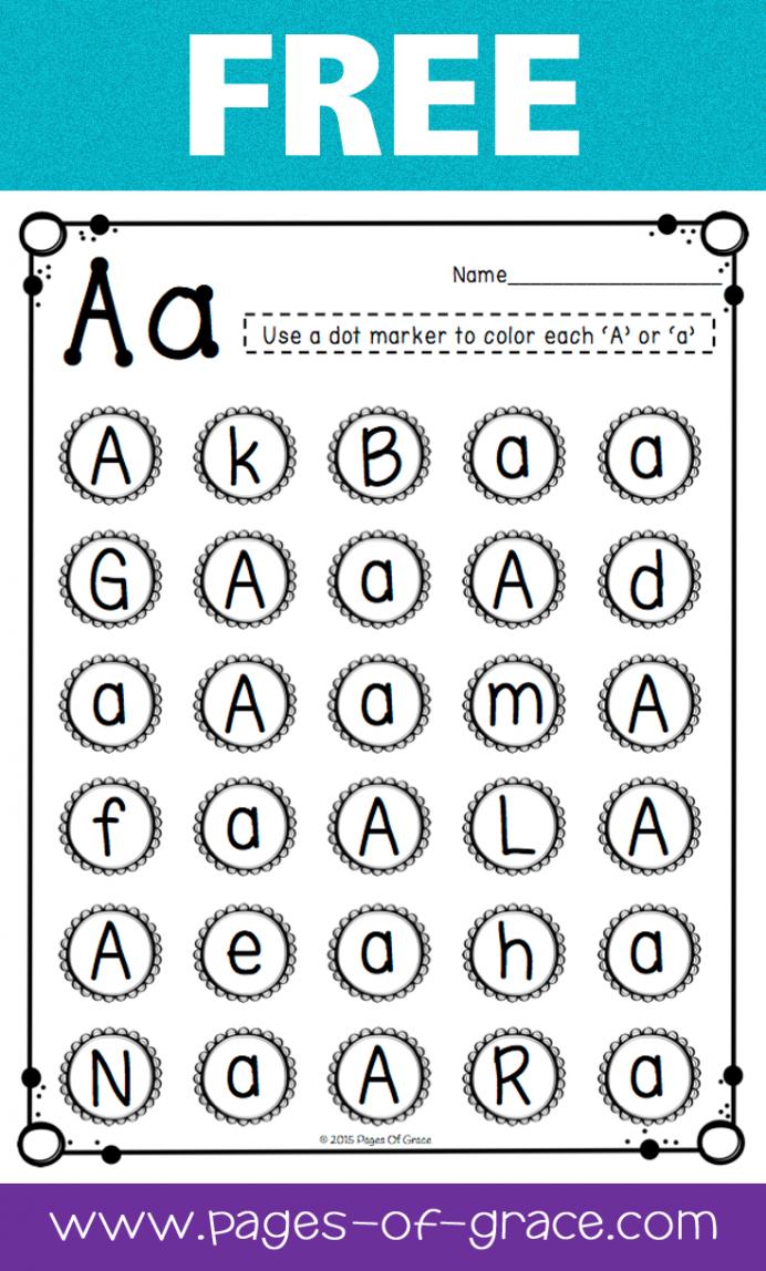 Math Worksheet : Kindergarten Learning Printables Image in Alphabet Recognition Worksheets Printable