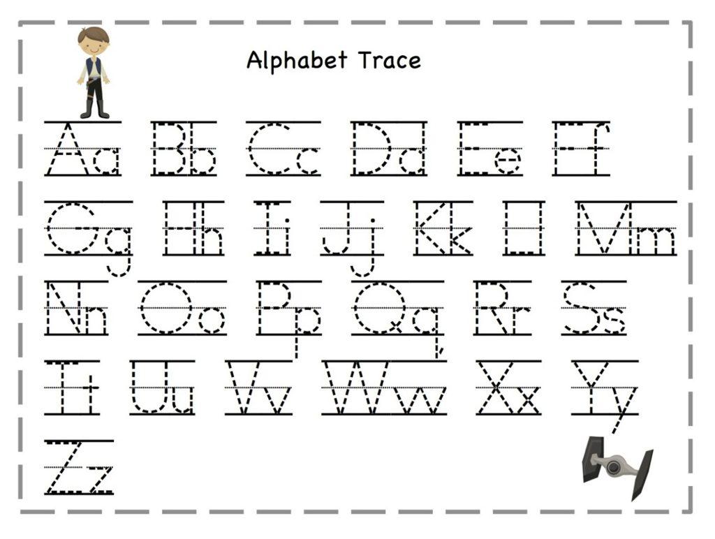 Math Worksheet Letter Tracing Worksheets Free Photo