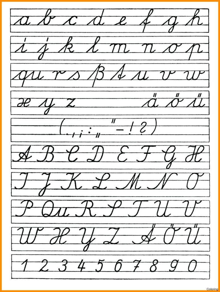 Math Worksheet : Math Worksheet Printable Cursive Letters