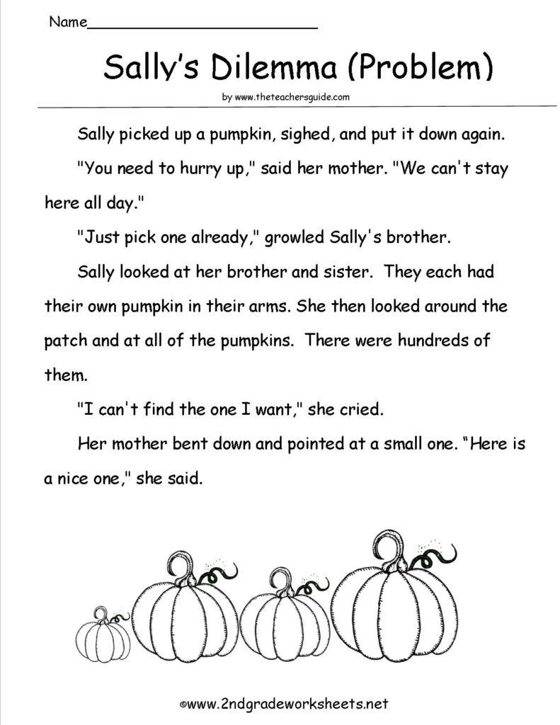 Math Worksheet : Sallysproblem Halloween Worksheets And