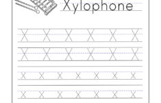 Letter X Worksheets For Toddlers