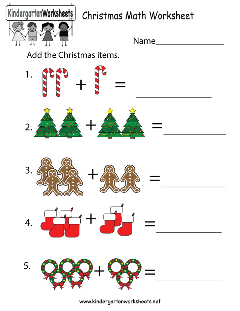 Mathematics Kindergarten Worksheets Clever Printable For You