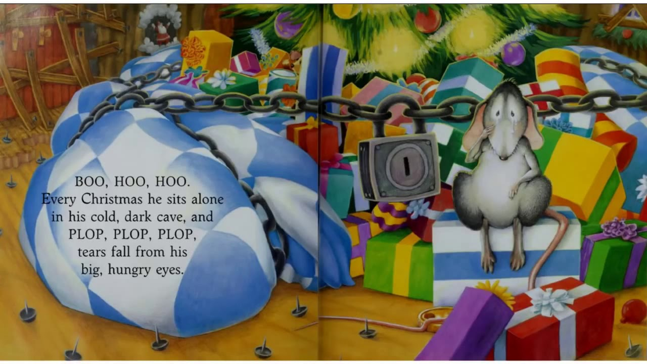 Merry Christmas Big Hungry Bear (Story Telling, Phonics / 스토리 텔링, 파닉스)