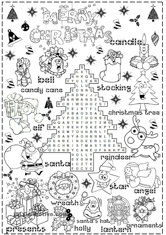 Merry Christmas   Christmas Worksheets, Christmas Worksheets