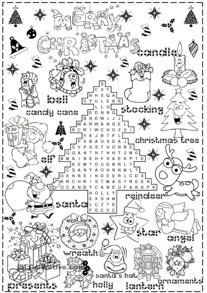 Merry Christmas | Christmas Worksheets, Christmas Worksheets