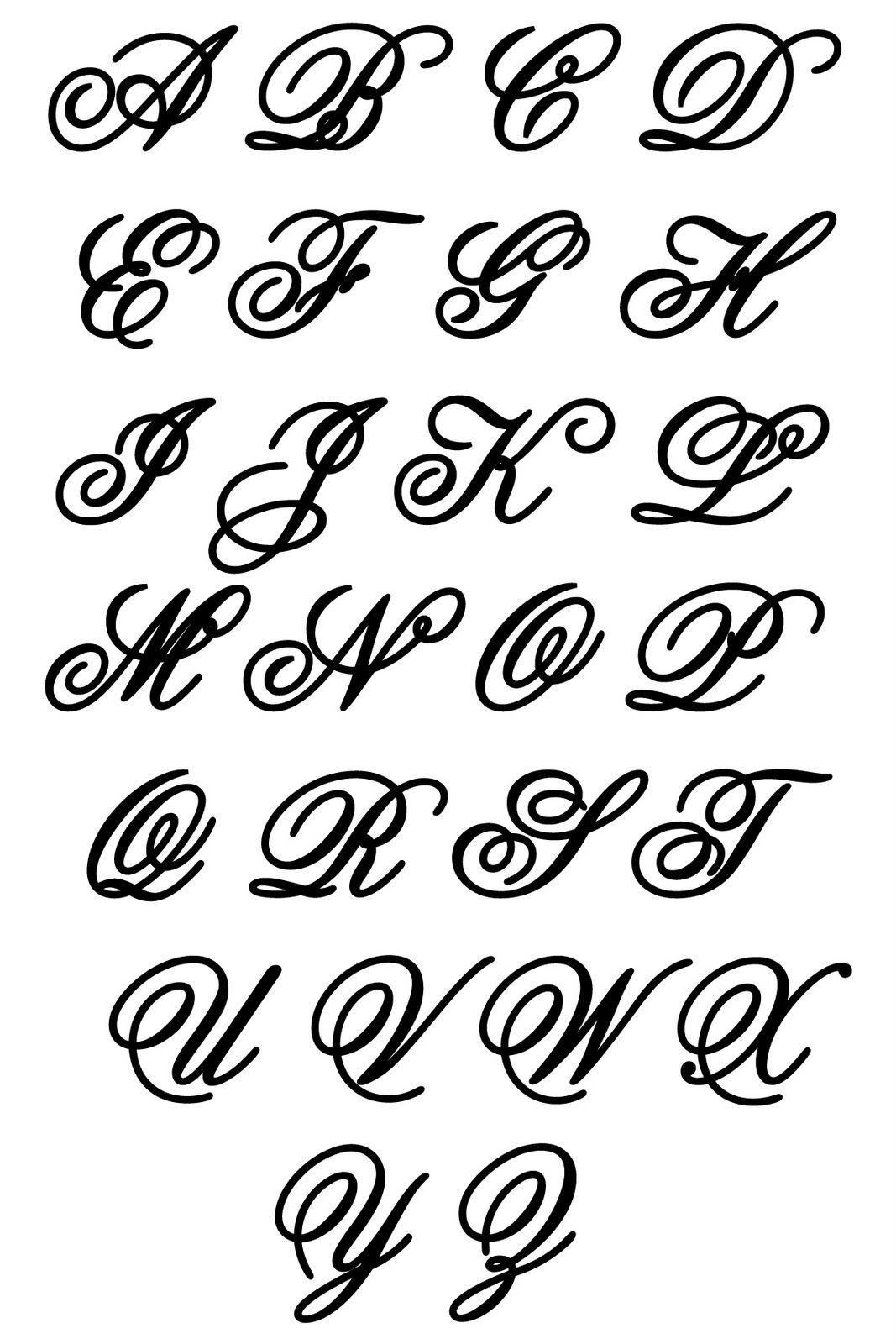 Monograms - Buscar Con Google | Lettering Styles Alphabet