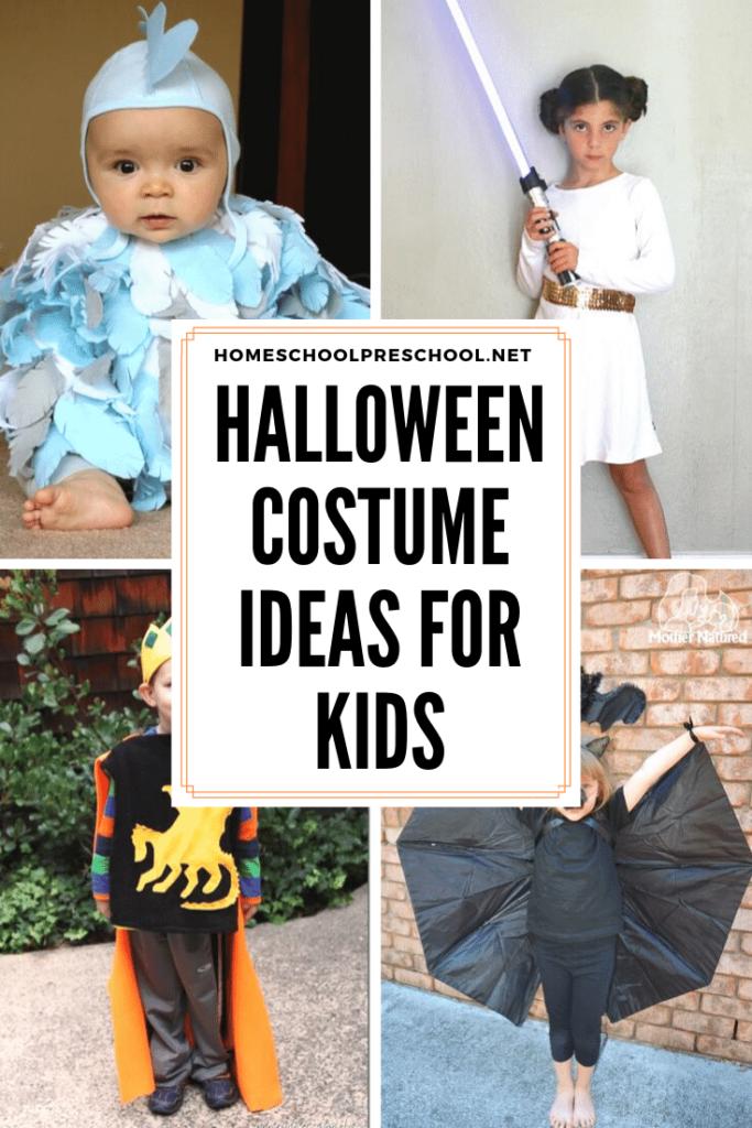More Than 20 Last Minute Preschool Halloween Costumes