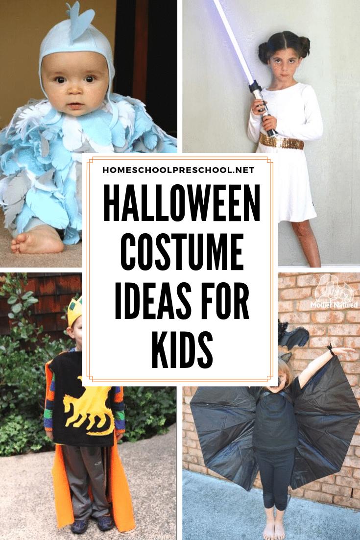 More Than 20 Last-Minute Preschool Halloween Costumes