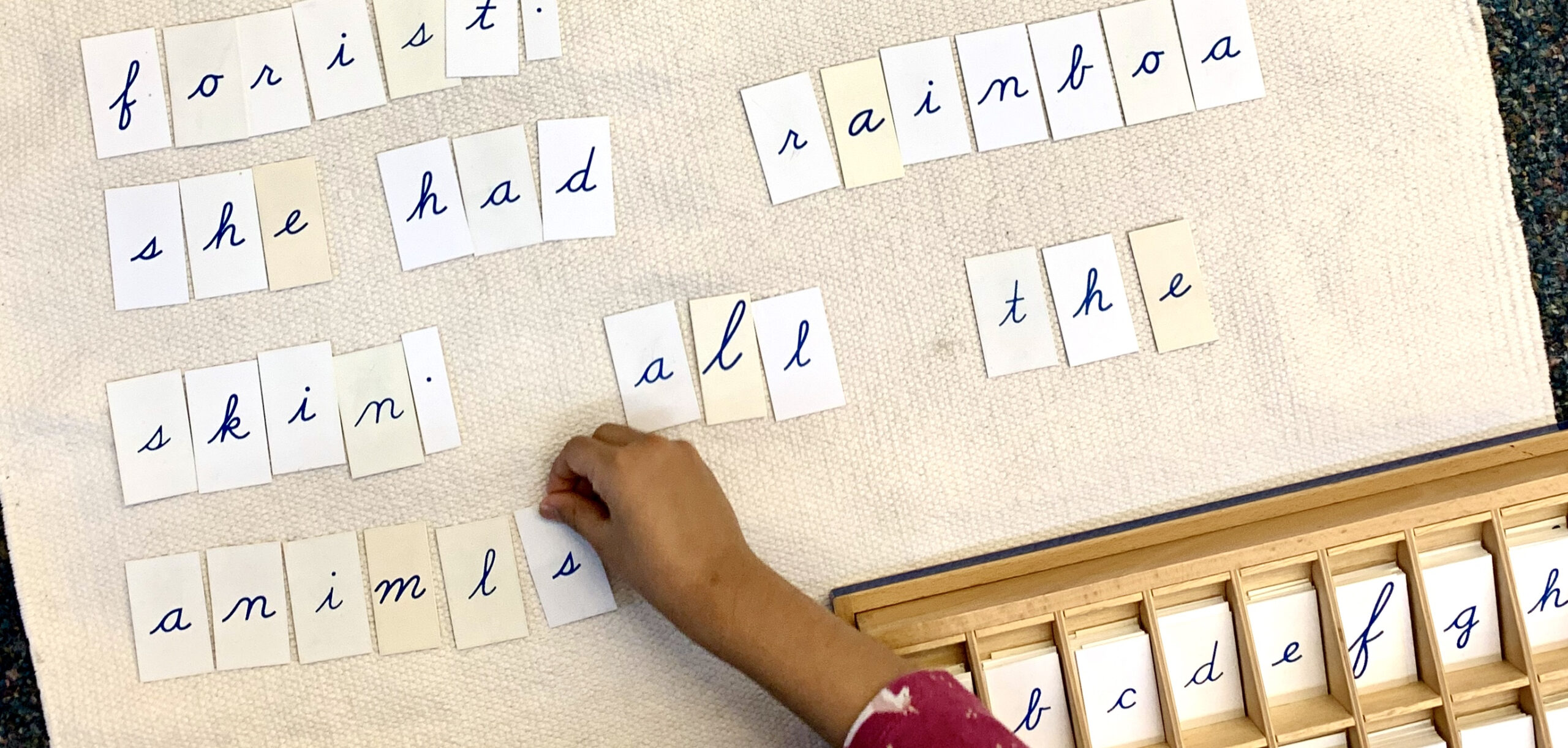 Movable Alphabet Printables | Montessori Assistant