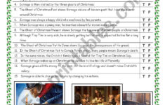 Movie: Disney´s A Christmas Carol (2009) – Esl Worksheet