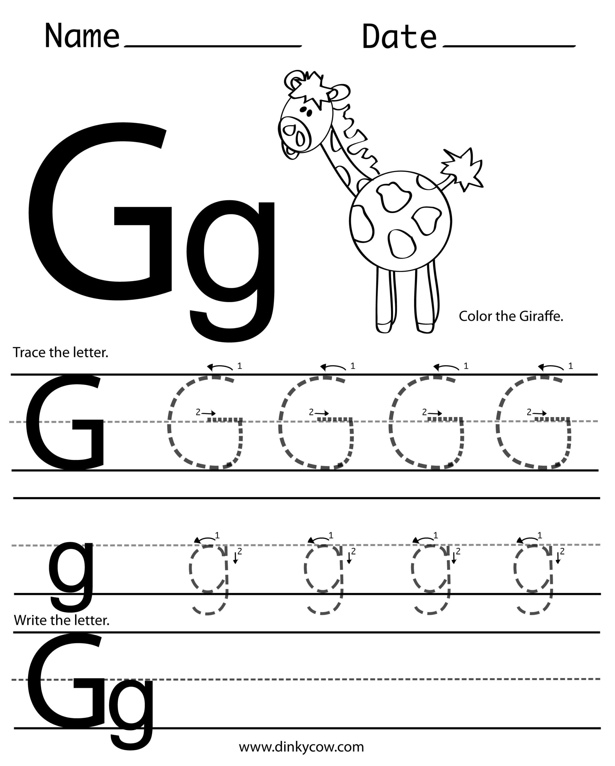 Mrs. Moffitt's Whiteboard | Letter G Worksheets, Tracing with G Letter Tracing