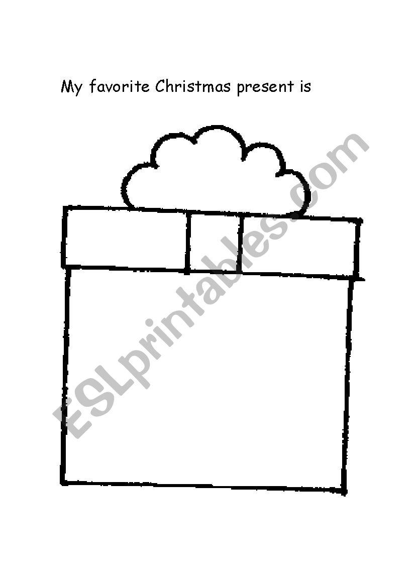 My Favorite Christmas Present - Esl Worksheetmpmdalpe