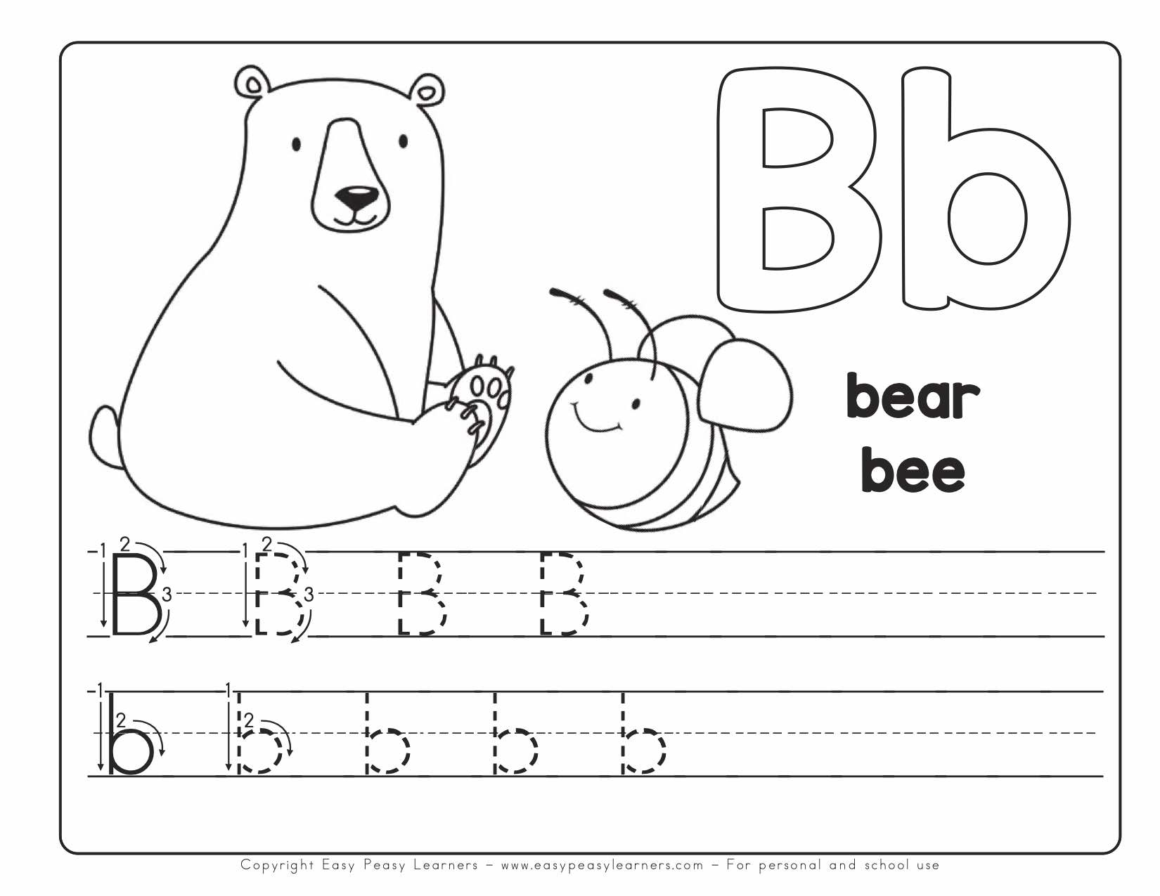My Printable Alphabet Book Letter Reading Worksheets Awesome with regard to Alphabet Book Worksheets