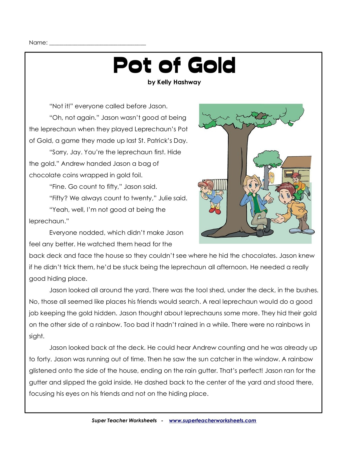 Name: Pot Of Gold Pages 1 - 8 - Flip Pdf Download | Fliphtml5