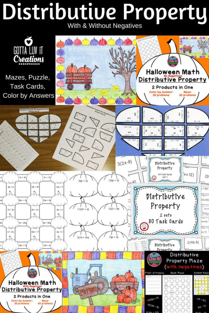 Need Fun Practice For Your Students? Click For Distributive