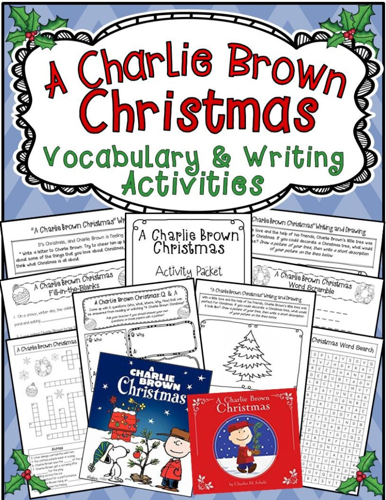 New: A Charlie Brown Christmas * Book/movie Vocabulary And