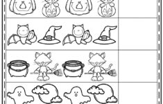 Printable Halloween Worksheets For Preschoolers