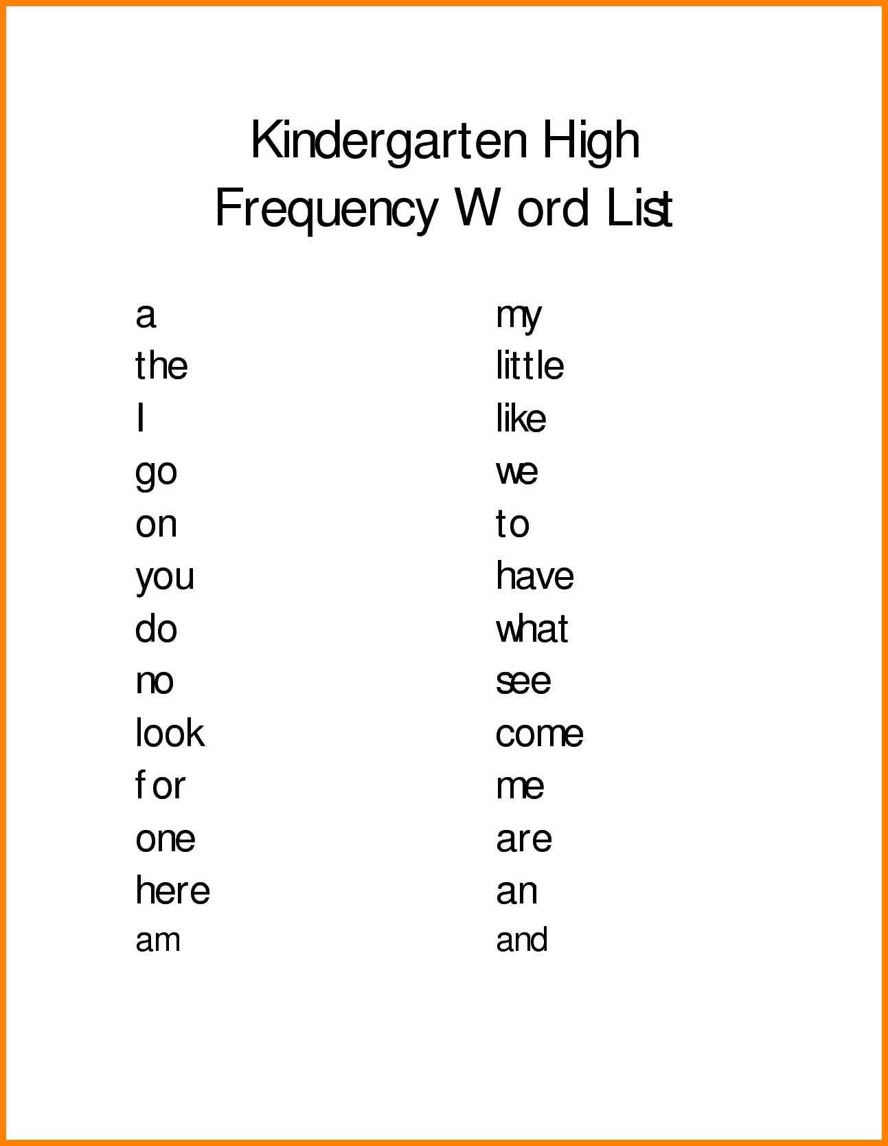 Outstandingarten Spelling Words Worksheets Picture