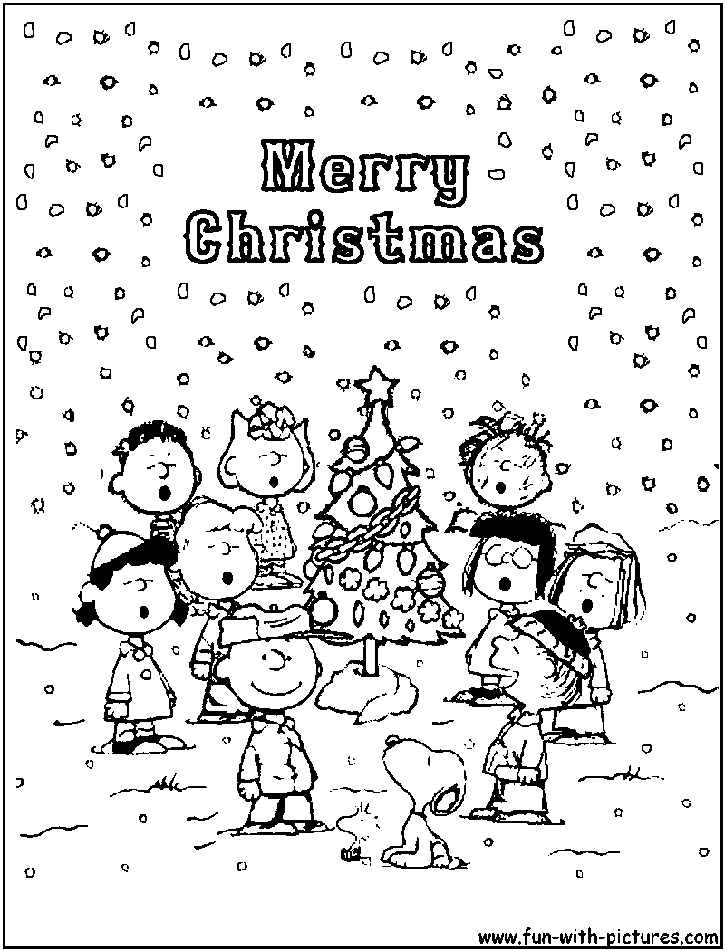 Peanuts Christmasg Pages Worksheets Page Of Sheets