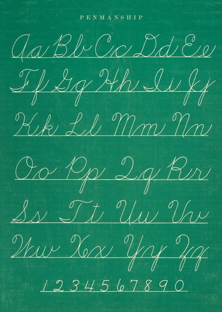 Penmanship   Teaching Cursive Writing, Cursive Writing