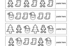 Christmas Activity Worksheets Kindergarten