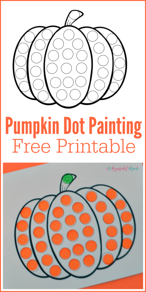 Pin On Dot Marker Printables