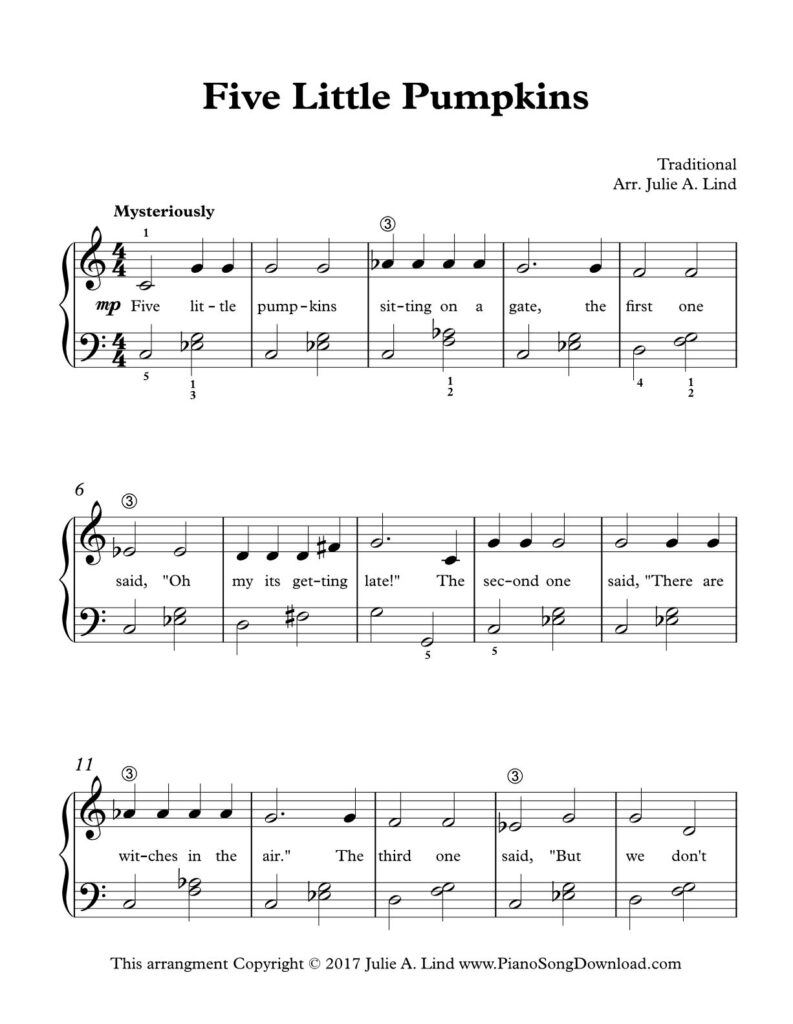 Pin On Free Halloween Songs For Piano
