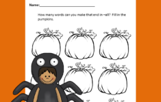 Http Www.sightandsoundreading.com Free-phonics-worksheet-halloween-word-family