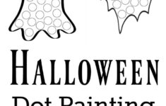 Free Printable Dot Marker Halloween Worksheets