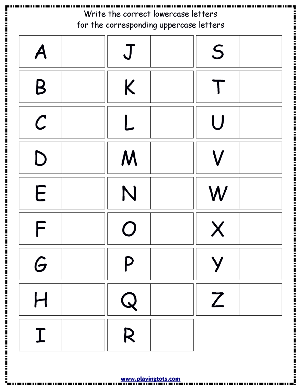 Pin On Worksheets within Alphabet Worksheets For Lkg