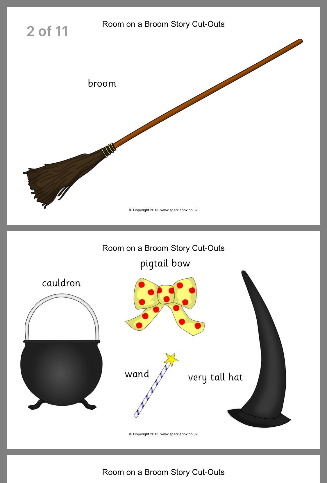 Pinconnie On Halloween   Room On The Broom, Kids