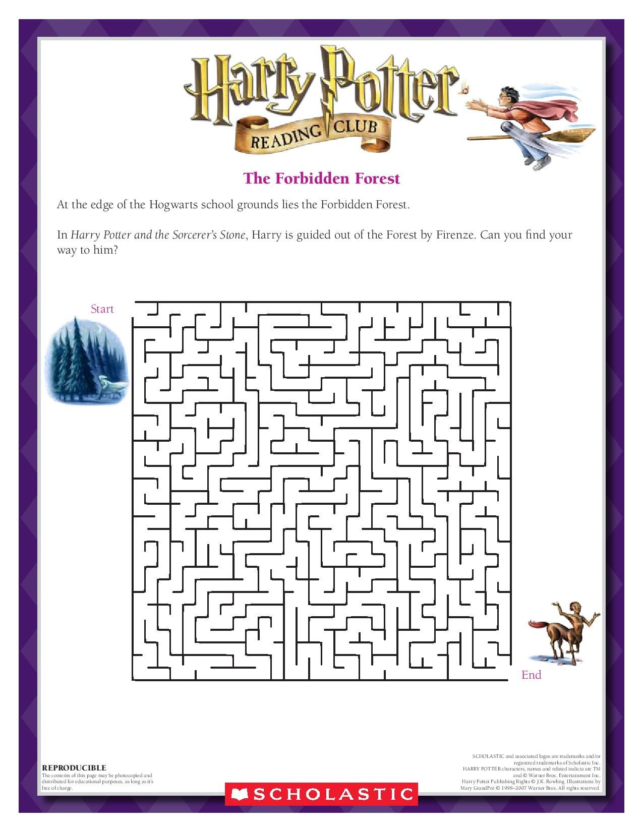 Pinscholastic On Harry Potter | Harry Potter Activities