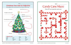 Christmas Worksheets And Puzzles