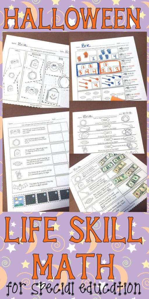Practice Life Math Skills With A Fun Halloween Twist To Help