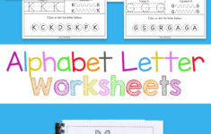 Alphabet Worksheets Preschool Free