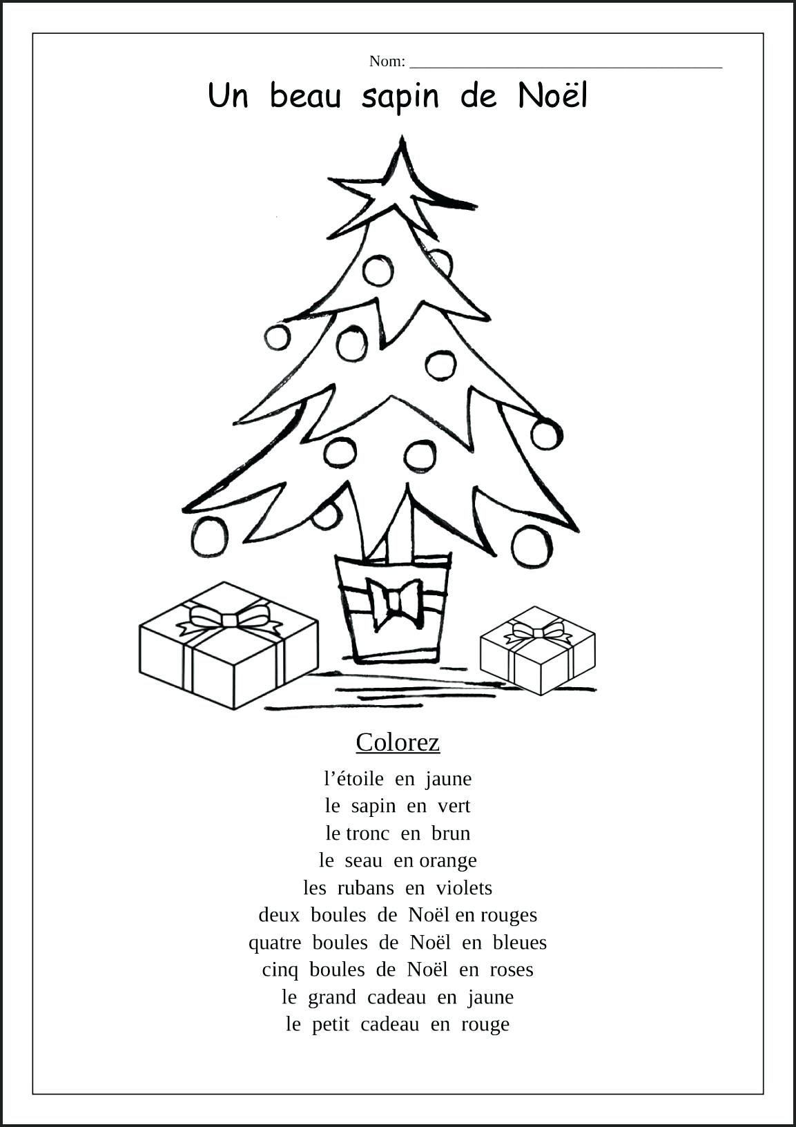 Printable Christmas Worksheets Activities For Kindergarten