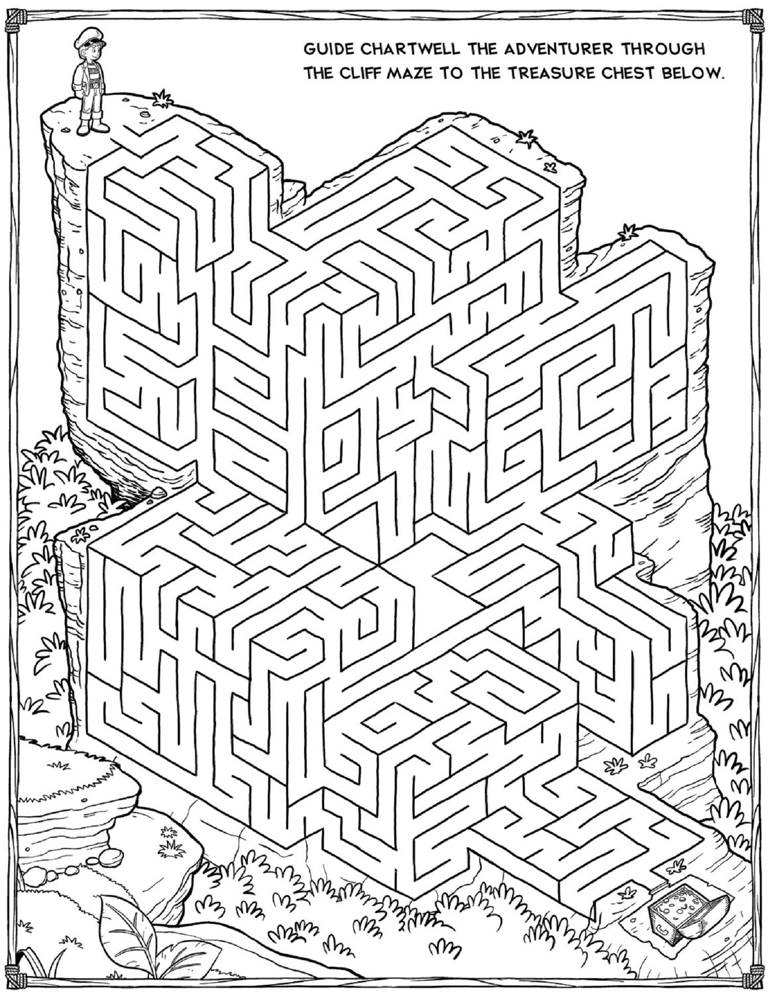 Printable Mazes - Best Coloring Pages For Kids | Mazes For