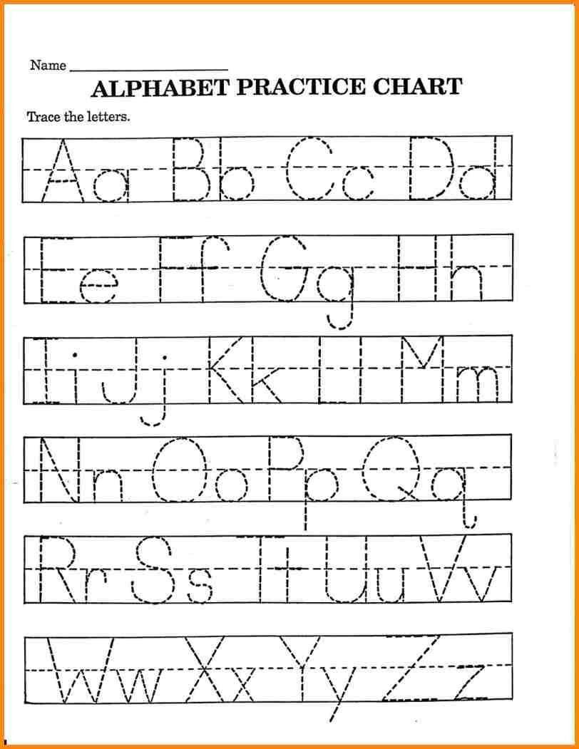 Printable Pre K Writing Worksheets