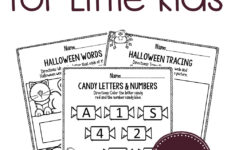 Free Halloween Alphabet Worksheets
