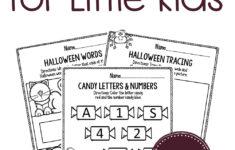 Free Halloween Alphabet Worksheets