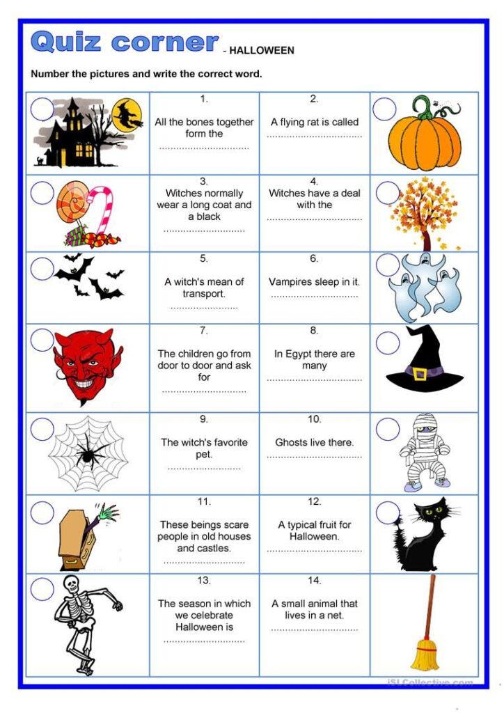 Quiz Corner   Halloween   Halloween Quiz, Halloween