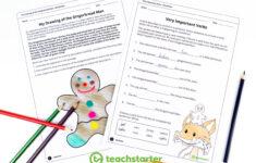 Remarkable Grammar Activities Middle School Worksheets