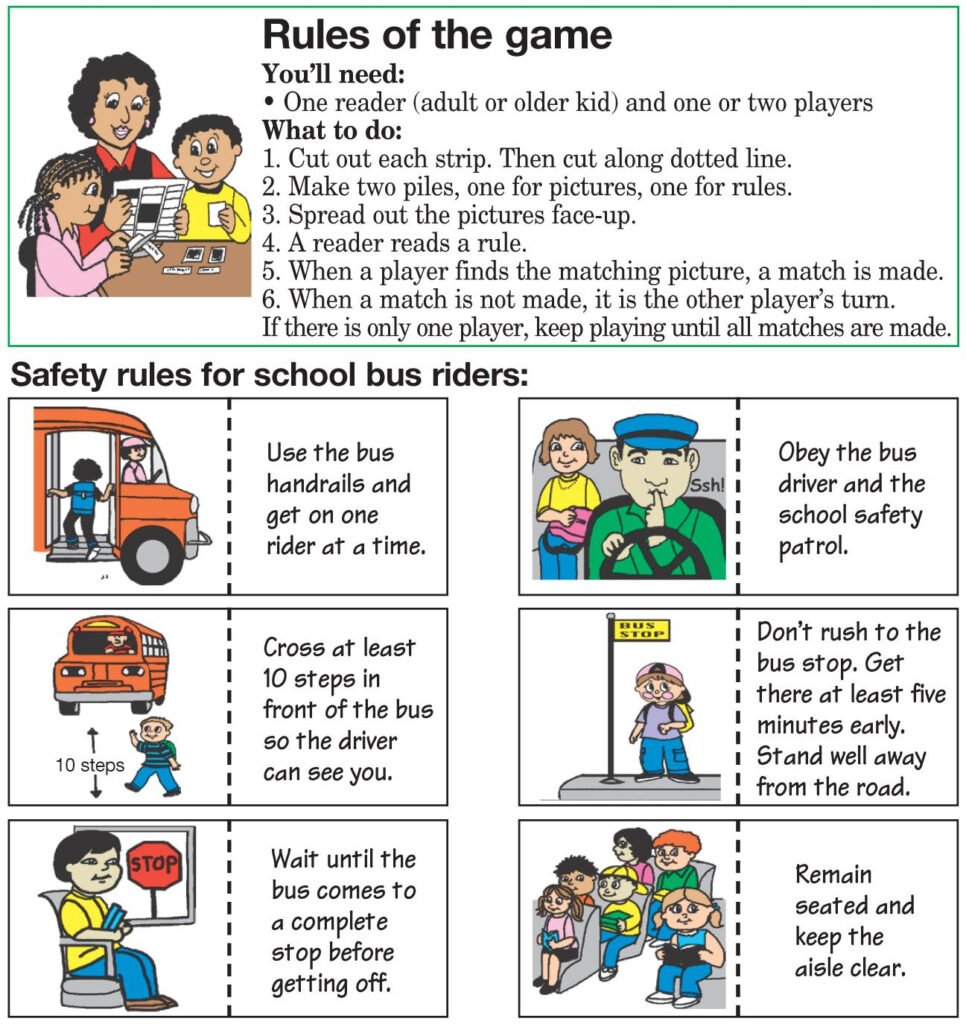 Safety Tips | School Safety, Counting For Kids, Safety Rules