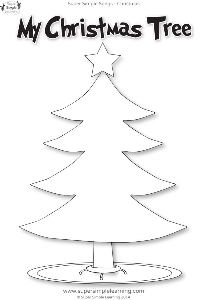 Santa, Where Are You? Worksheet   My Christmas Tree   Super