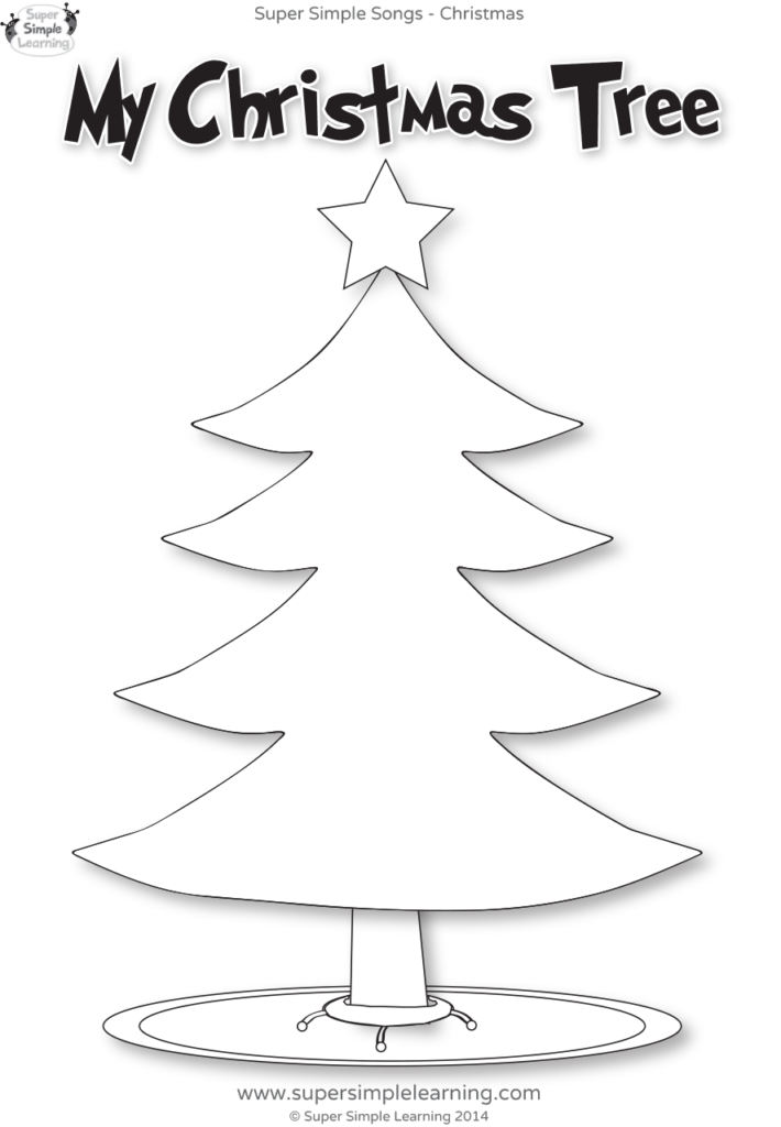 Santa, Where Are You? Worksheet   My Christmas Tree   Super