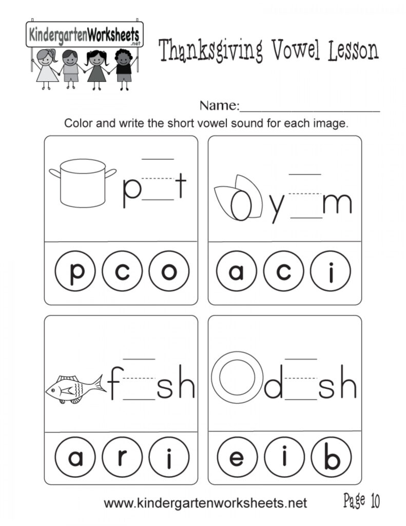 Short Vowel Worksheets 1St Grade Share Printable Coloring