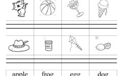 Alphabet Book Worksheets