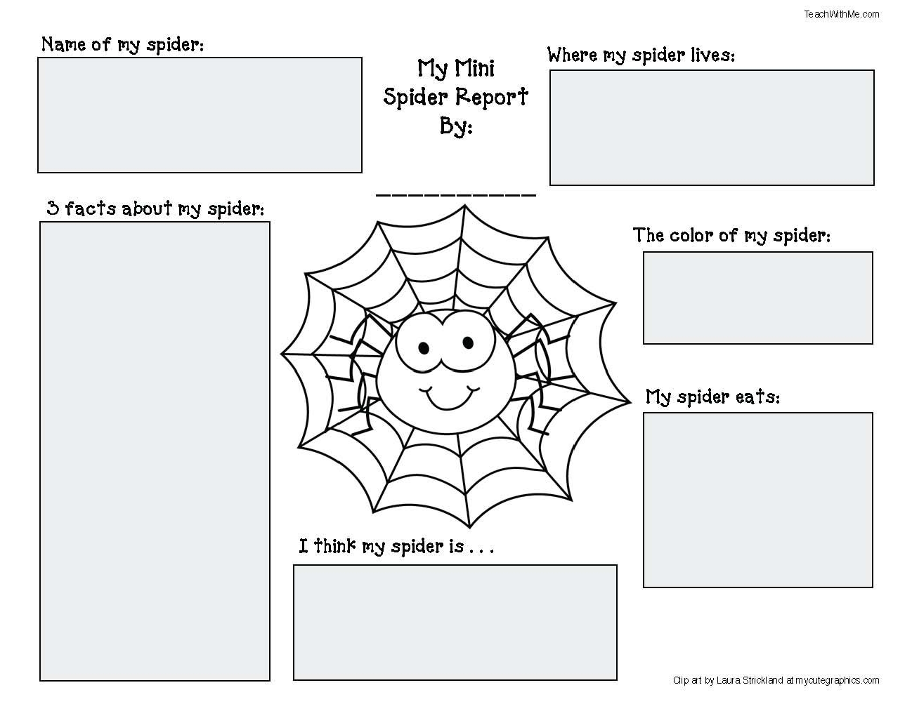 Spider Activities And Games That Teach   Spider Activities