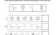 Halloween Pattern Worksheets For Kindergarten